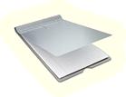 Portamapa de aluminio marca Saunders